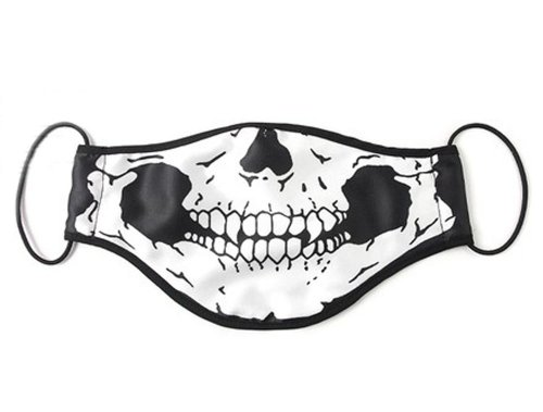 Hot Sale Mulberry The skeleton Jaw Sanitary Mask, The Fashionasta -