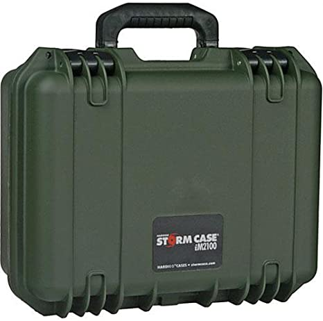 Pelican Storm iM2100 Case With Padded Divider Set Black