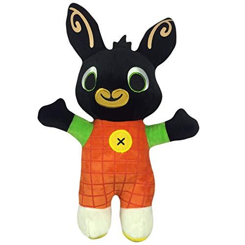 Hoppity Bunny - TinyOak Stuffed & Plush Animals - Genuine Bing Bunny Plush Toy Sula Flop Hoppity Voosh Pando Bing Coco Plush Doll peluche Toys Birthday 1 PCs