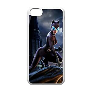 Catwoman FG0046995 Phone Back Case Customized Art Print Design Hard Shell Protection Iphone 5C