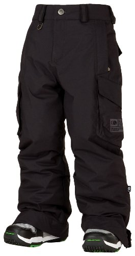 Bonfire Youth Burly Snowboard Pants Black Small by Bonfire Snowboarding