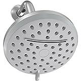 A-Flow8482; Rainfall and Waterfall Luxury 4.5 Shower Head  3 Function Showerhead - Chrome