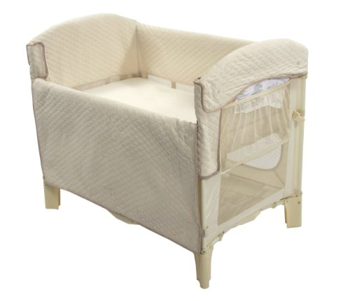 Arm's Reach Ideal Arc Original Co-Sleeper Bedside Bassinet, Natural