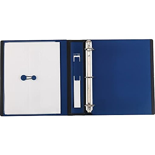 Staples Better 1.5-Inch 3-Ring View Binder, Blue (13400)