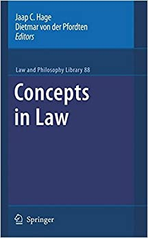 Concepts in Law (Law and Philosophy Library)
