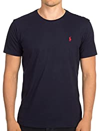 Men's Pony Logo Crew Neck T-Shirt