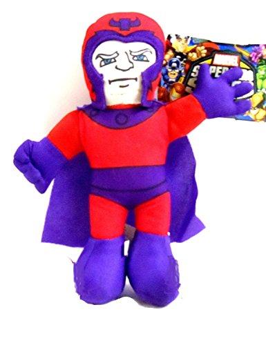 Officially Licensed Marvel Super Hero Squad Avengers Magneto Plush 9