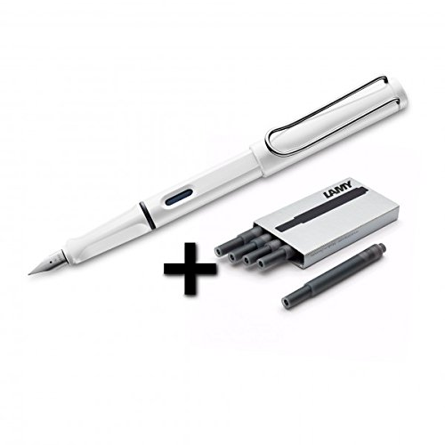 Lamy Safari Fountain White Cartridges product image