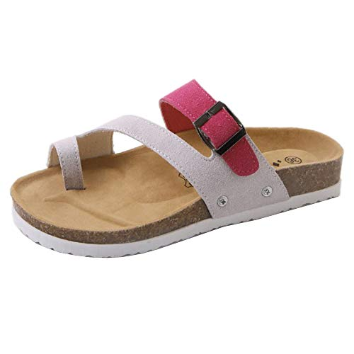 On Sandali Zanpa Casuale Slip Donna Spiaggia Rose OEOaqXw