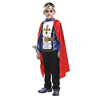 Santai Halloween Kids Costumes The prince's costume Stage Performance Clothings (XL)