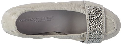 Kennel And Schmenger Ladies Malu Chiuso Ballerine Grigio (cenere)