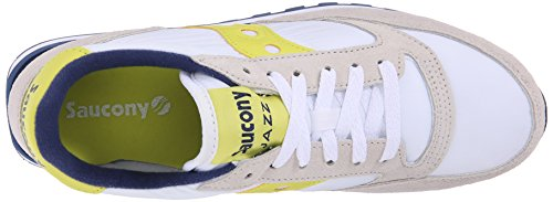 Para White Blanco Blanco Zapatillas Mujer Jazz Saucony Yellow Original qUntn0