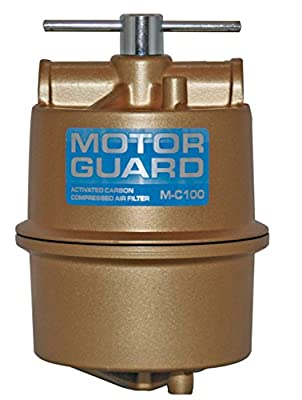 Motor Guard M-C100 1/2 NPT Activated Carbon Compressed Air Filter