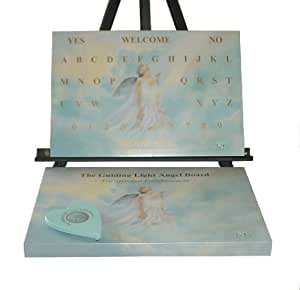 Guiding Light Angel Board, Not a Ouija But an Angel Board, Talk with Angels and Spirit Guides (Guiding Light Products)