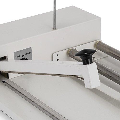 VEVOR 24'' I-Bar Shrink Wrap Machine with Heat Gun I-bar Sealer Compatible with PVC POF Film Shrink Wrap Sealer for Home Commercial Use (24 Inch) by VEVOR (Image #5)
