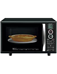 Sharp microwave oven toast function with 15L Black RE-S5E-B