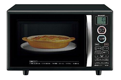 シャープ オーブンレンジ トースト機能付き 15L ブラック RE-S5E-B