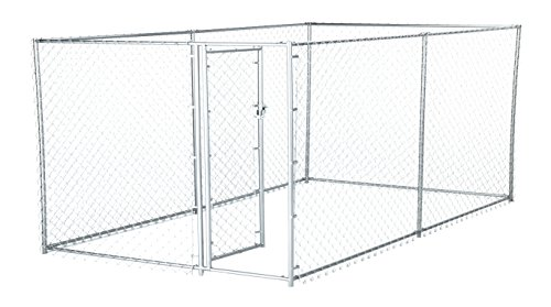 Chain Link Dog Kennel Containing product image