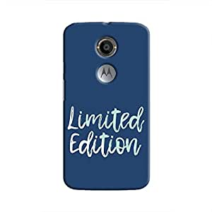 Cover It Up - Limited Edition Blue Moto X2 Hard Case
