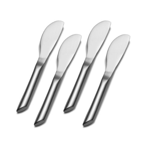 ainless Steel Cheese Spreader, Set of 4 (Cheese Spreader Set)
