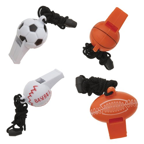 Sports Ball Whistle Party Favors