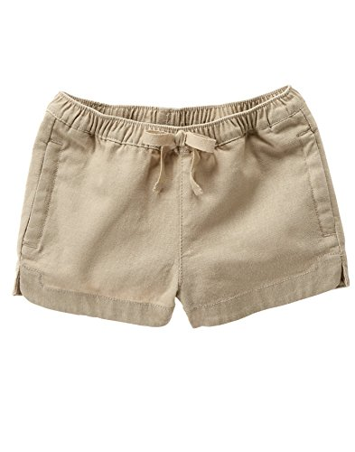 Crazy 8 Baby Toddler Girls' Po Pull on - Girls Linen Shorts