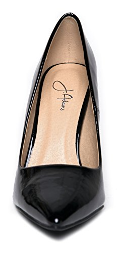 Black Closed High Pumps Adams Slip J Classic Heel Pointed Kiera Work On Pumps Toe Pat zOza70qx