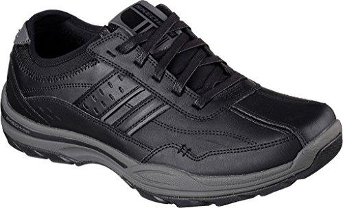 Skechers Men's Skech-Air Elment Meron Sneaker,Black,US 8.5 W