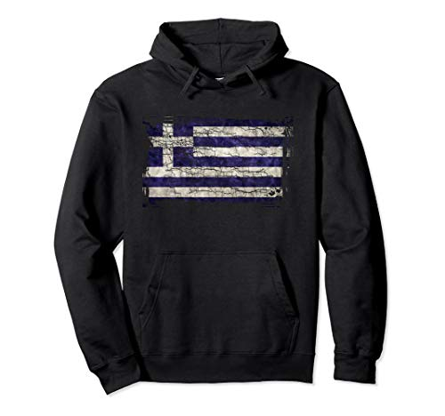 - Unique Trendy & Vintage Greece Flag Gift Hoodie G003719