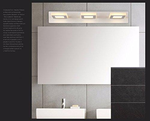 Peiwenin led lampade a specchio da bagno lampada a muro di nebbia