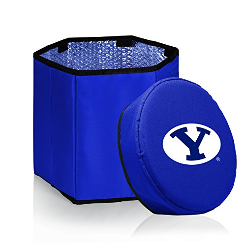 (NCAA BYU Cougars Bongo Insulated Collapsible Cooler, Navy)