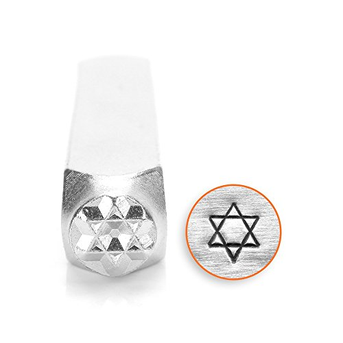 ImpressArt- 6mm, Star of David Design ()