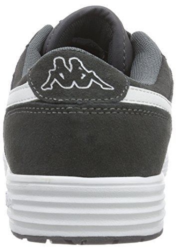 Kappa Trooper Plus Footwear Men, Leather - Zapatillas Unisex adulto Gris