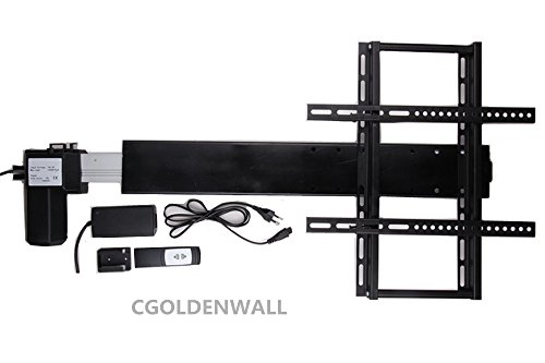 (Automatic Height Adjustable TV Lift TV Lifter TV Mount Bracket with mounting Brackets for 26-60 inch TV Max Load 100KG/1000N (Stroke:600MM))
