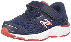 New Balance Kids' 680V5 Hook and Loop Ru...