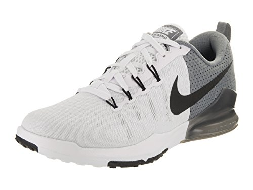 NIKE Men's Zoom Train Action White/Black Cool Grey Training Shoe 11.5 Men US