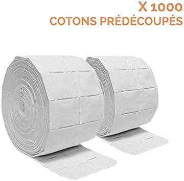 Vivezen ® - Rollo de 500 algodón para manicura de celulosa - Norma CE: Amazon.es: Salud y cuidado personal