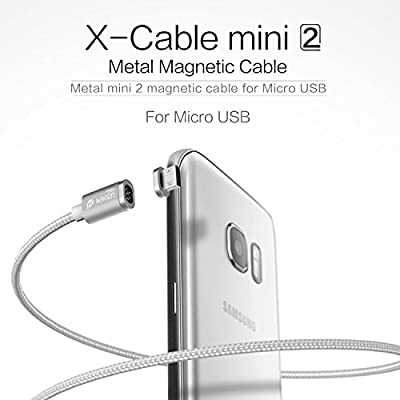 Wsken Mini2 Micro USB Cable Magnetic LED Display USB Sync and Fast Charger Cable for Android by Wsken