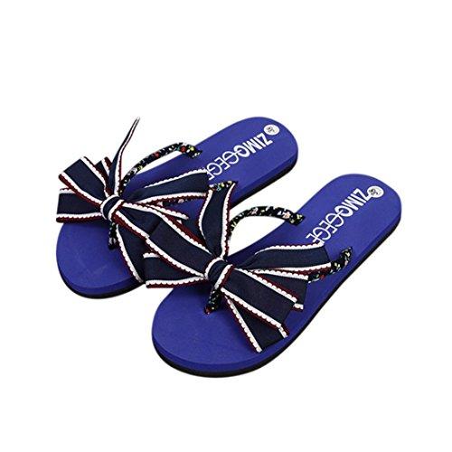 Goma de Azul Mujer Para Vestir Bescita de Sandalias EVA xn16FI