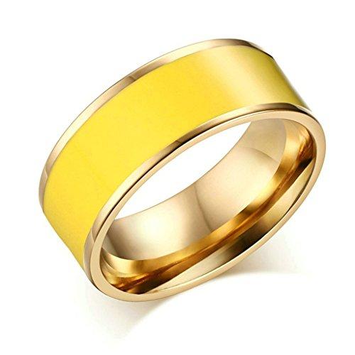 beydodo-stainless-steel-rings-wedding-bands-for-womenplain-enamel-epoxy-ring-yellow-size-9