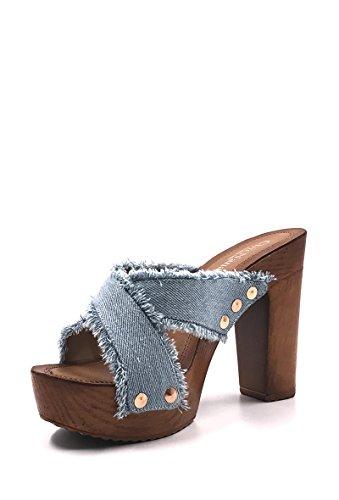 CHIC NANA - Zapatos de Punta Descubierta Mujer azul claro