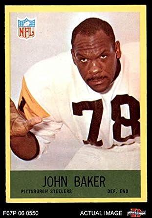 the latest e5038 7f5f6 Amazon.com: 1967 Philadelphia # 147 John Baker Pittsburgh ...
