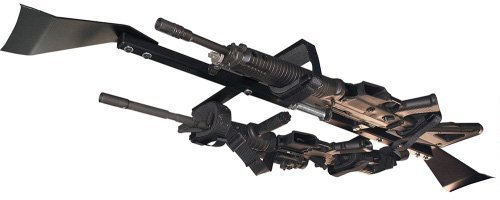 Great Day CL1502T Center-Lok Overhead 2-Gun Rack for Tactical Weapons (48''-54'' width)