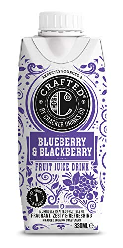 Cracker Drinks Co Blueberry and BlackBerry, 330 ml