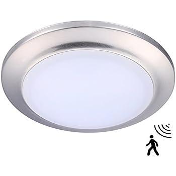 LED Flush Mount Ceiling Light Motion Sensor Round Ceiling Lamp for ...