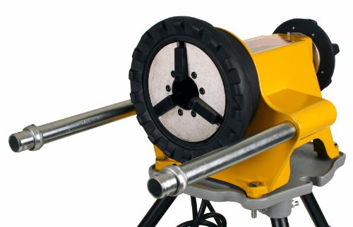 Steel Dragon Tools 300 Power Drive and 1206 Stand for Roll Grooving or Pipe Threading fits RIDGID 41855 42360 by Steel Dragon Tools (Image #1)