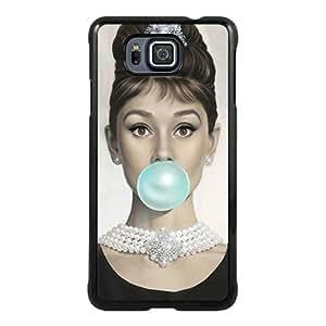 PAN Personalized Design Audrey Hepburn Black Samsung Galaxy Alpha Case