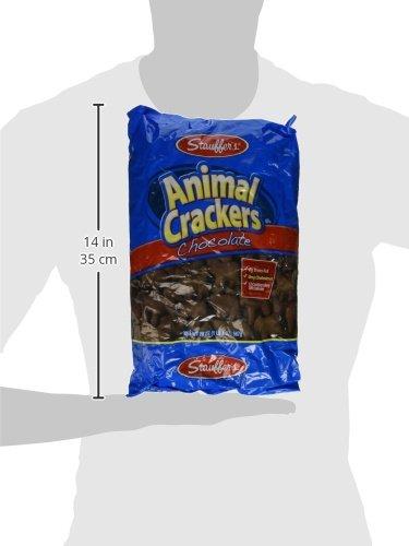 Stauffer's, Animal Crackers, Chocolate, 20oz Bag (Pack of 4)