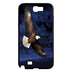 Cute eagle Hard Snap Phone Case Cover For For Samsung Galaxy Note 2 Case FKGZ484016
