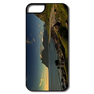 Case For Samsung Galaxy S5 Cover, Beach Landscape Covers Case For Samsung Galaxy S5 CoverWhite/black Hard Plastic